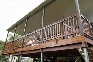 Fairfield Deck Renovation Ceiling