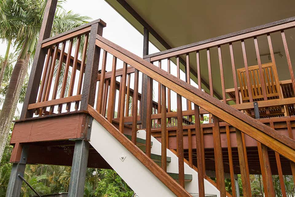 Fairfield Deck Renovation Stairs