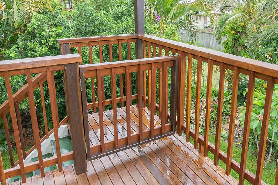 Fairfield Deck Renovation Gate