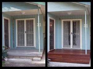 Hardy Construction Before & After Renovation