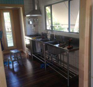 Hardy Construction Kitchen