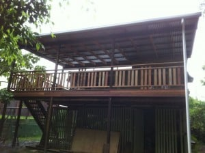 Hardy Construction Clayfield Timber Deck Extension