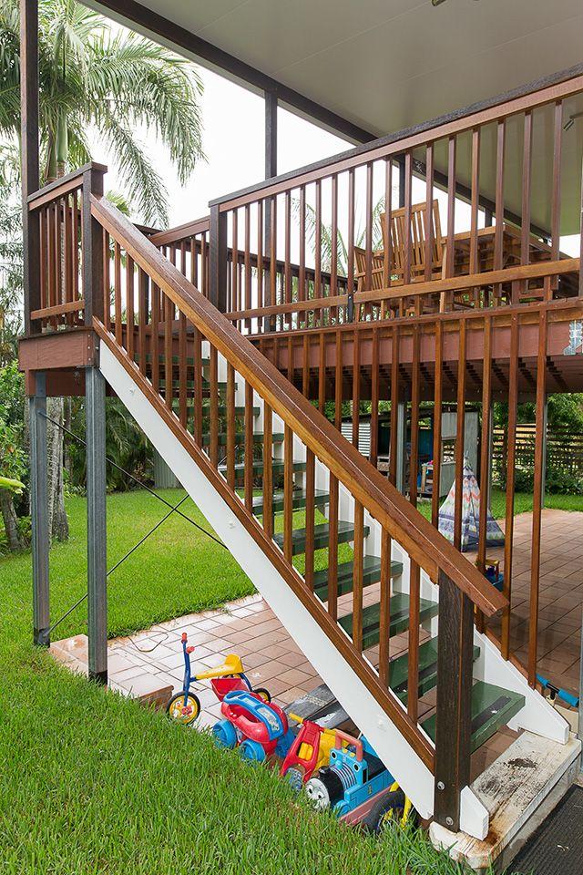 Fairfield Deck Renovation Stairs